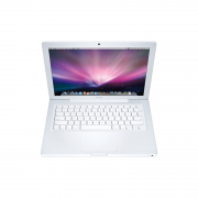 MacBook 13-inch, 2,4 GHz Intel Core 2 Duo, 8 GB 1067 MHz DDR3, 250 HDD