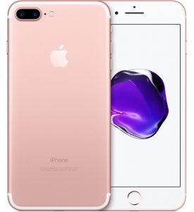 iPhone 7 Plus 256GB, 256 GB, Rose Gold