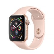 Watch Series 4 Aluminum (40mm), Gold, Pink Sand Sport Band
