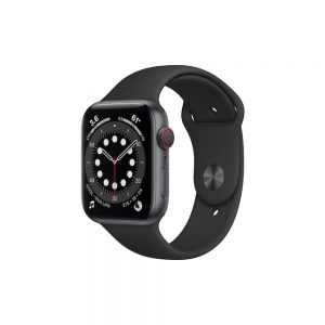 Watch Series 6 Steel Cellular (40mm), Space Black