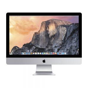 "iMac 27"" Retina 5K Late 2015 (Intel Quad-Core i5 3.2 GHz 8 GB RAM 256 GB SSD), Intel Quad-Core i5 3.2 GHz, 8 GB RAM, 256 GB SSD"