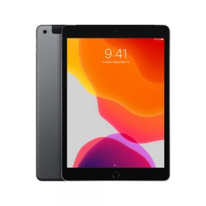 iPad 7 Wi-Fi + Cellular 128GB, 128GB, Space Gray
