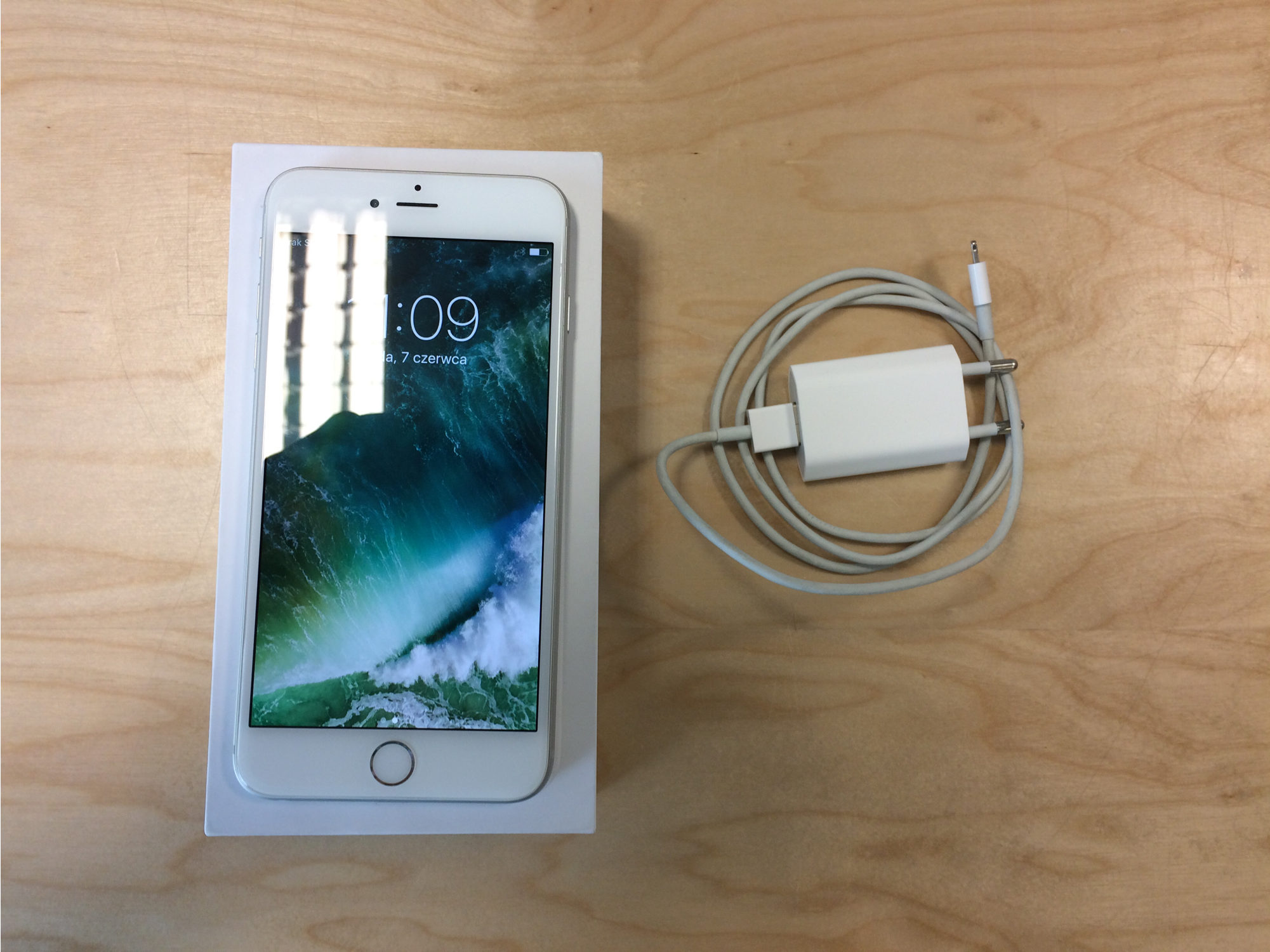 iPhone 6 Plus 64GB, 64GB, Silver, Afbeelding 2