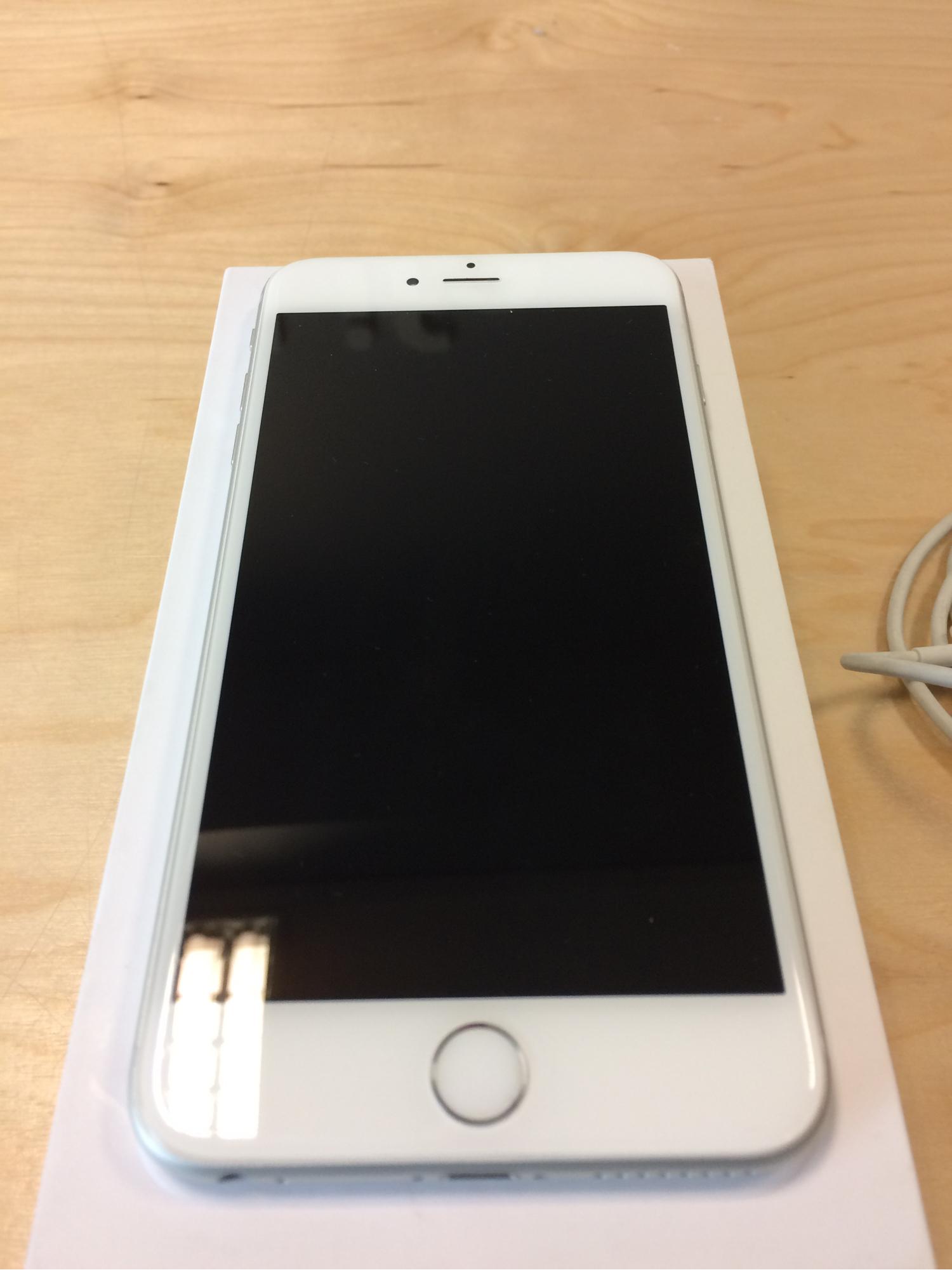 iPhone 6 Plus 64GB, 64GB, Silver, Afbeelding 1