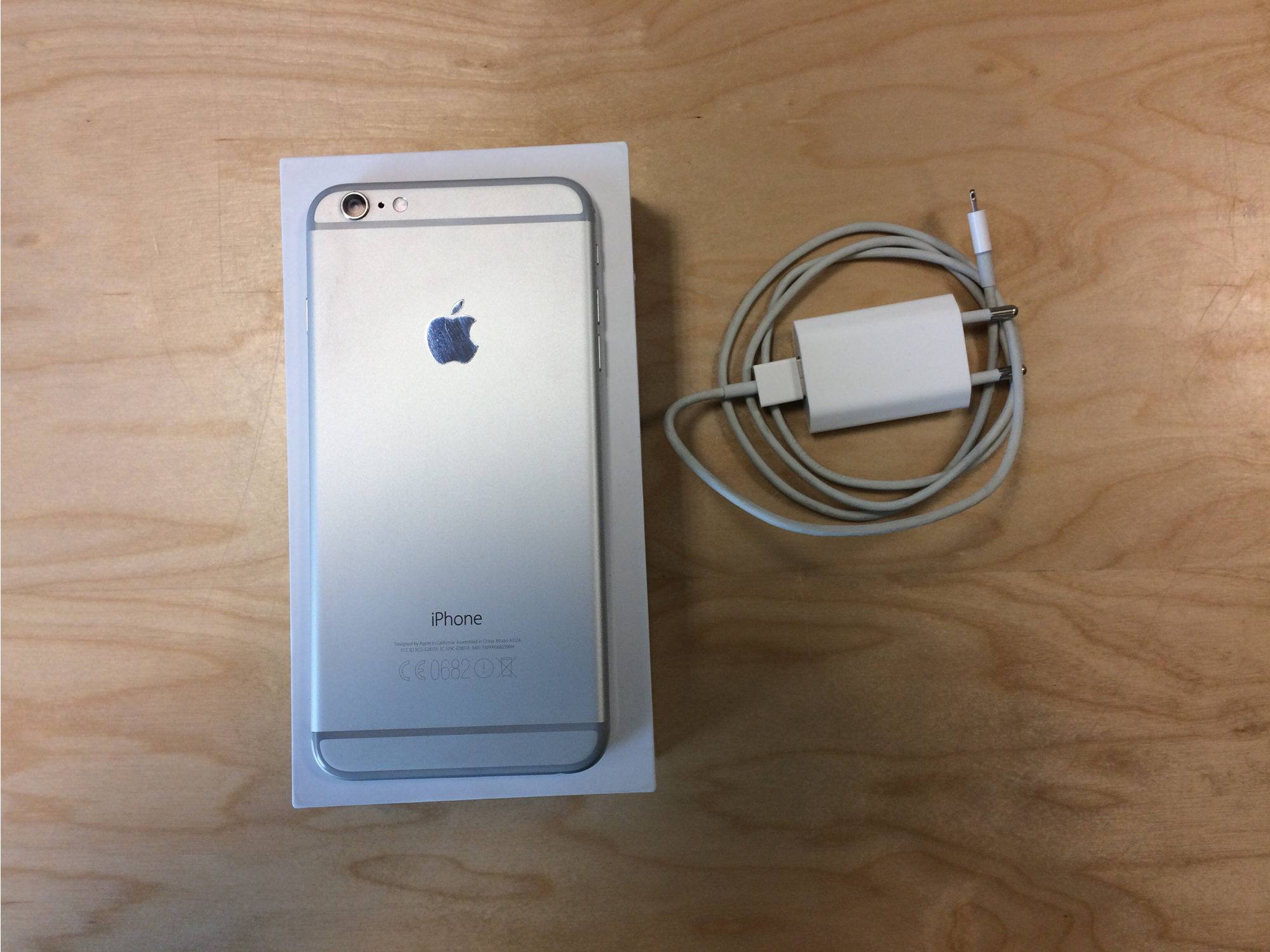 iPhone 6 Plus 64GB, 64GB, Silver, Afbeelding 3