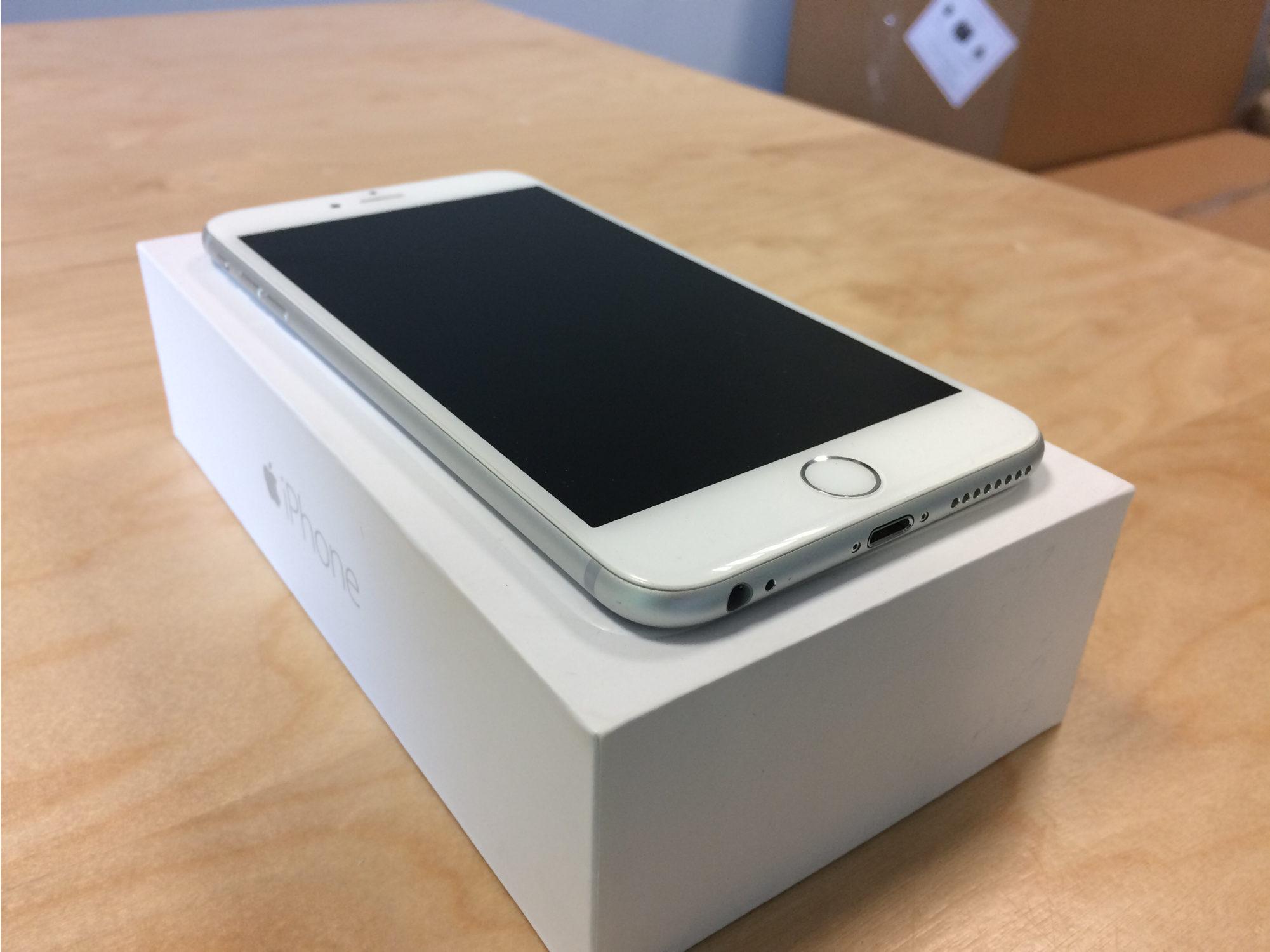 iPhone 6 Plus 64GB, 64GB, Silver, Afbeelding 4