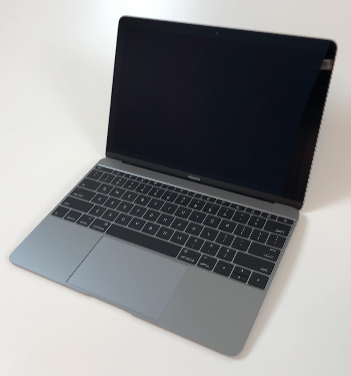 "MacBook 12"" Early 2016 (Intel Core m7 1.3 GHz 8 GB RAM 512 GB SSD), Space Gray, Intel Core m7 1.3 GHz, 8 GB RAM, 512 GB SSD, obraz 1"