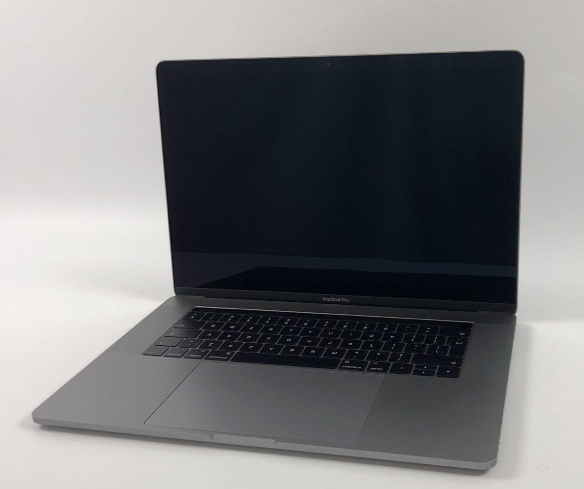 "MacBook Pro 15"" Touch Bar Late 2016 (Intel Quad-Core i7 2.7 GHz 16 GB RAM 512 GB SSD), Space Gray, Intel Quad-Core i7 2.7 GHz, 16 GB RAM, 512 GB SSD, obraz 1"