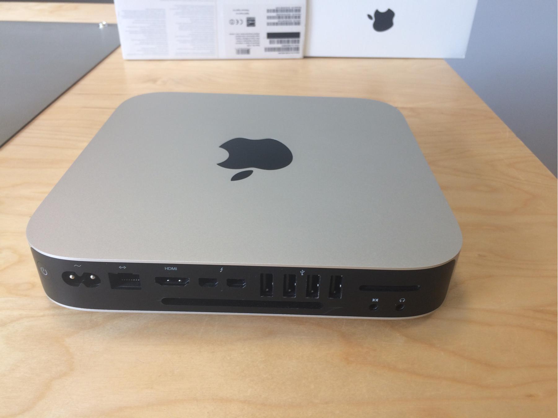 Mac Mini Late 2014 (Intel Core i5 2.6 GHz 8 GB RAM 1 TB HDD), 2.6 GHz Intel Core i5, 8GB 1600 MHz, 1TB HDD, obraz 2